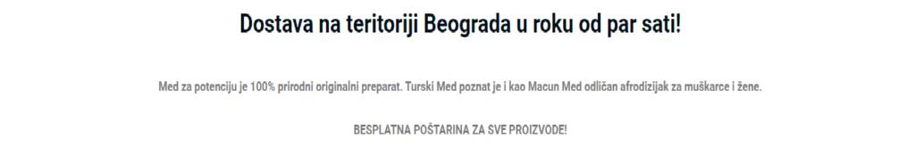med turski za potenciju